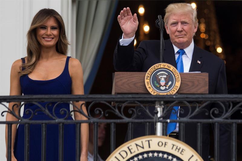 Trump parte de EEUU para iniciar segunda gira presidencial al extranjero