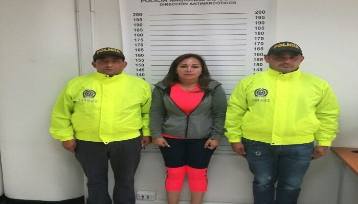 """Capturan a """"La Dama de Hierro"""" presunta narco mexicana por nexos con Clan del Golfo"""