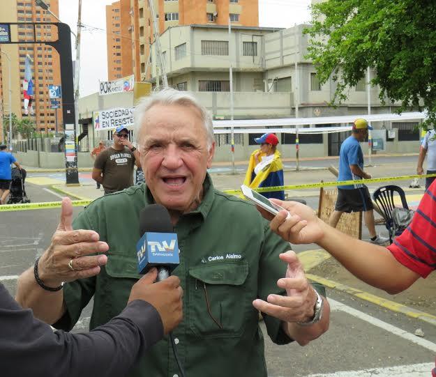 """Carlos Alaimo: """"En Maracaibo más que un trancazo, ocurrió un paro cívico"""""""