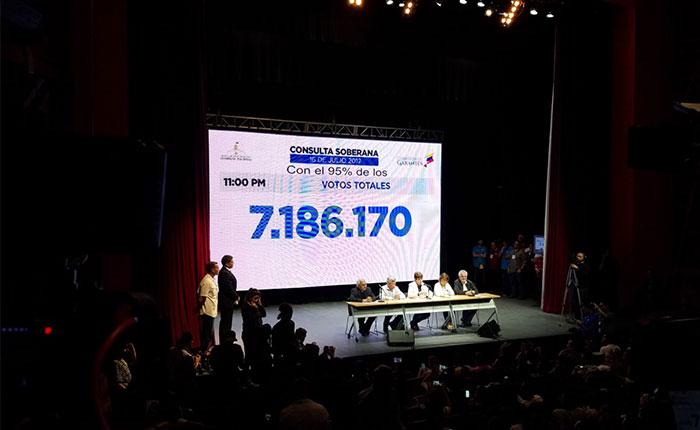 Consulta popular convocó a más de 7 millones de venezolanos en rechazo a la Constituyente