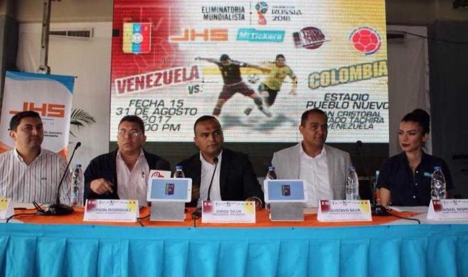 Desde el 17 de agosto podrás adquirir tu entrada para el Venezuela-Colombia en San Cristóbal