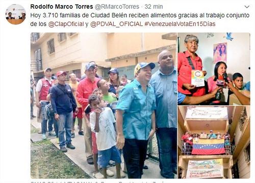 Este sábado distribuyeron alimentos Clap a 3.710 familias de Miranda