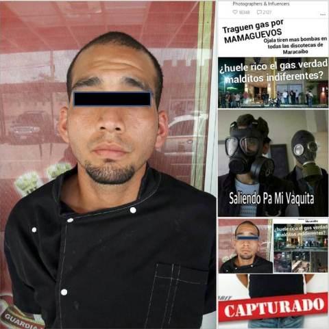 """Familiares de """"El Chino"""" alegan que él no es responsable de los ataques a discotecas con bombas lacrimógenas"""