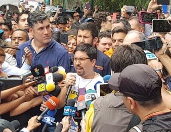 Freddy Guevara: Es un paso hacia la libertad de todos los venezolanos (Video)