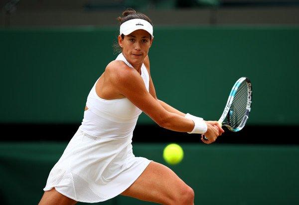 Garbiñe Muguruza despachó a Svetlana Kuznetsova y ya está en semifinales de Wimbledon