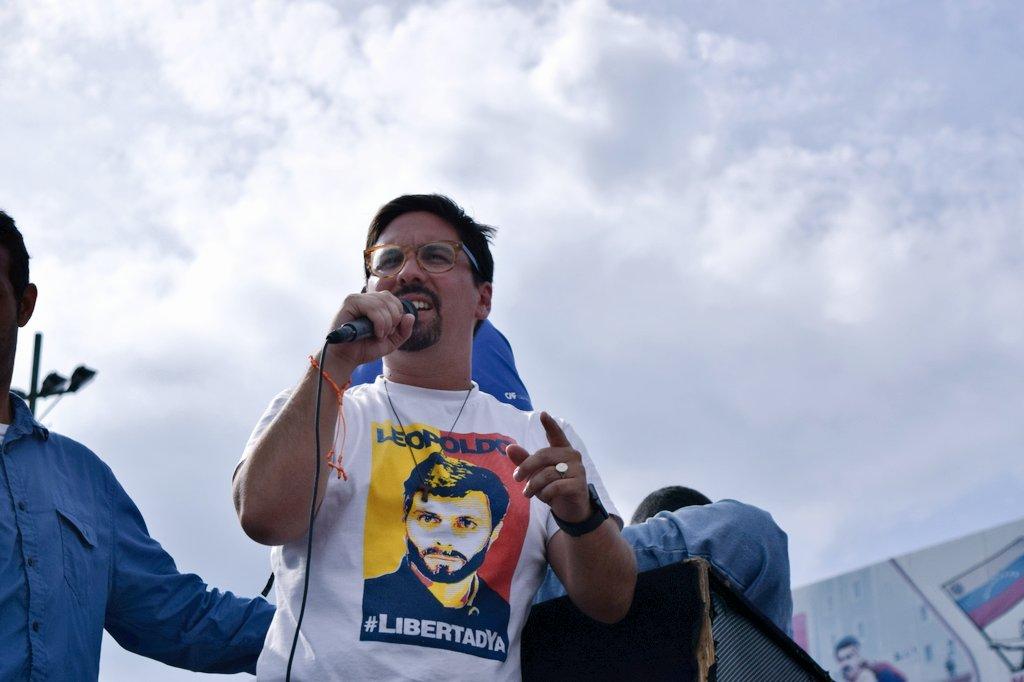 Guevara habló sobre encuentro entre Zapatero y Leopoldo López