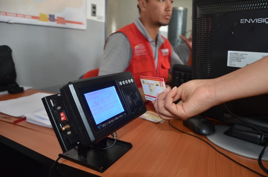 Llegaron a Fontur Zulia nuevos instrumentos de pago del pasaje estudiantil