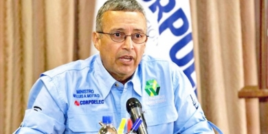 Motta Domínguez: El Guri está alcanzando la cota de 270 msnm
