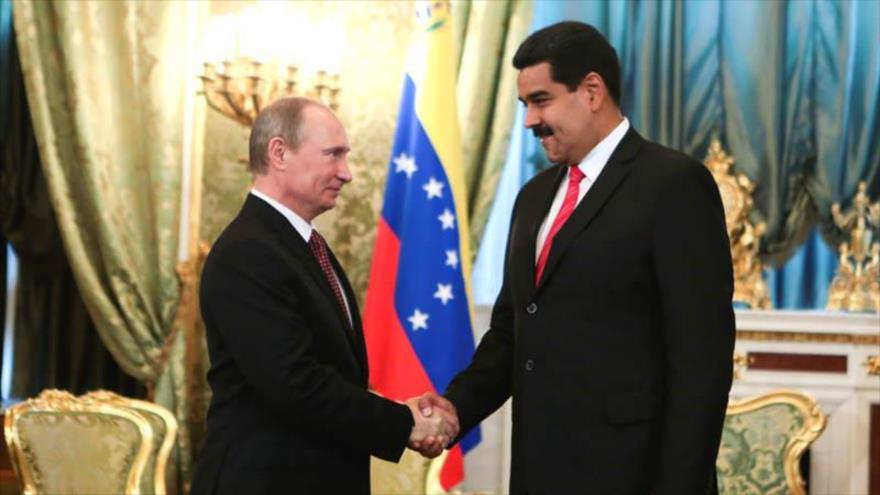 """Maduro y Putin tocaron temas de """"importancia estratégica"""" este lunes"""