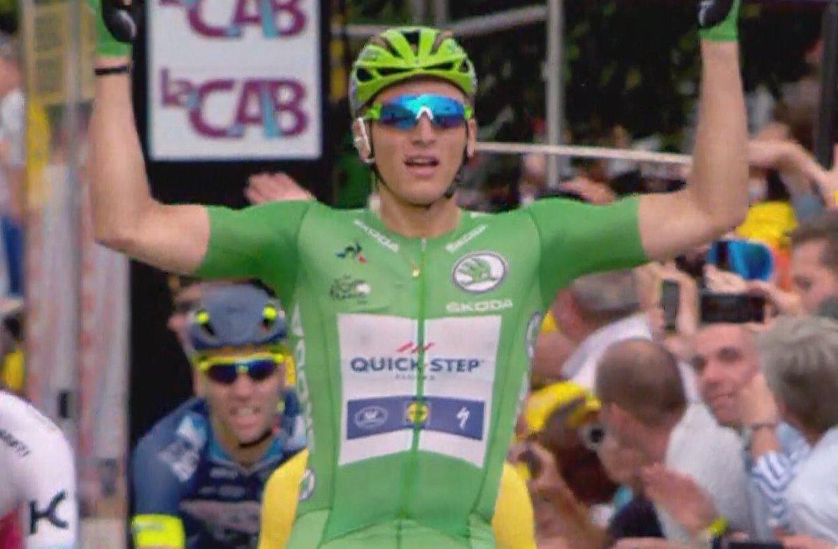 Marcel Kittel ganó su cuarta etapa en el Tour de Francia