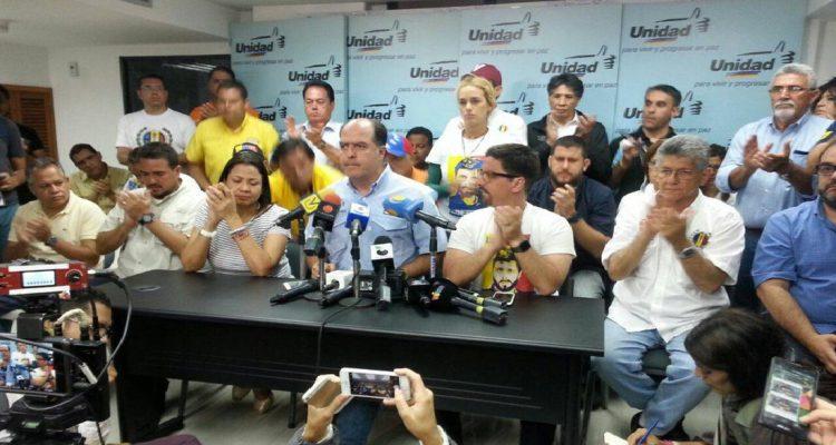MUD rechaza la feria electoral convocada por el CNE para este domingo
