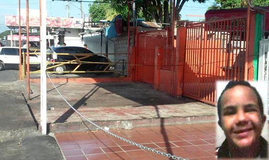 Muere niño con síndrome de Down al tropezar con guaya de un puesto de comida en barrio Los Andes