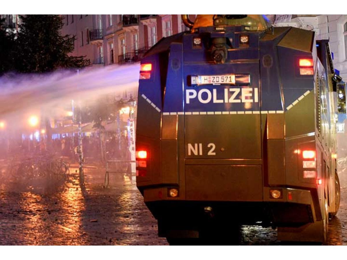 Nuevos disturbios en manifestaciones por el G20 en Hamburgo