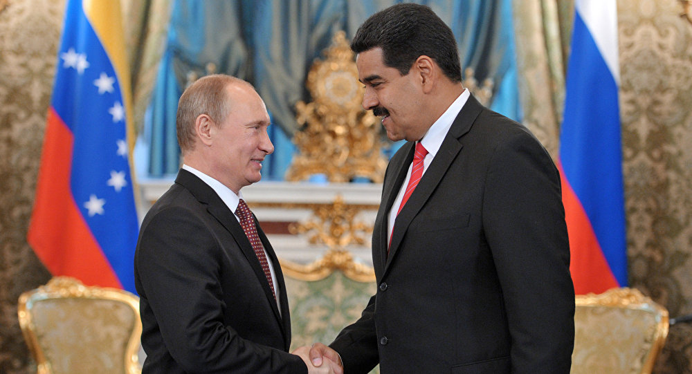 """Putin expresa a Maduro su """"admiración"""" por gobernar Venezuela """"con coraje"""""""