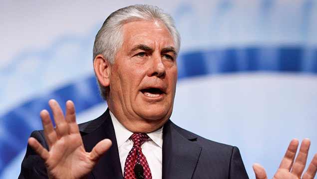 Rex Tillerson será galardonado en el Congreso Mundial del Petróleo