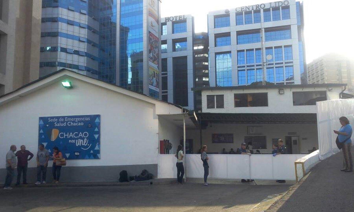 Salud Chacao atendió a 25 personas heridas durante trancazo este #10jul