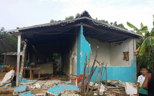 Se eleva a dos los fallecidos tras explosión de vivienda en la COL: Tres víctimas se encuentran aún hospitalizadas