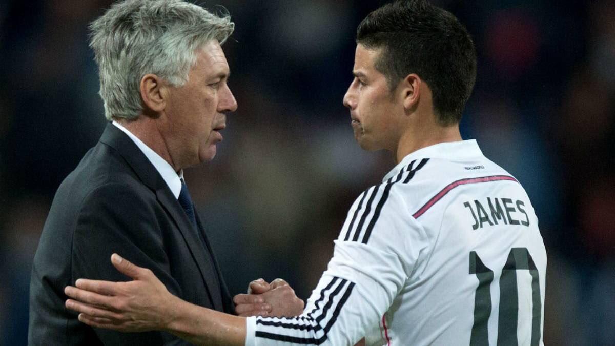 ¡Se recuentran en el Bayern Múnich! Carlo Ancelotti ha sido el técnico que le ha sacado más provecho a James Rodríguez