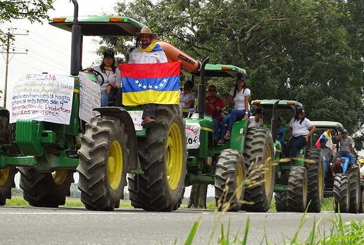 """Sector agrícola y pecuario realizará """"tractorazo"""" en apoyo a consulta del 16-J"""