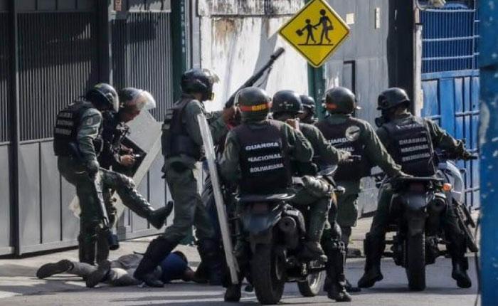 Siete funcionarios de la GNB resultaron afectados por explosión en Altamira