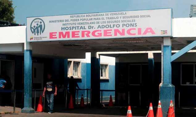 Tirotean a hombre y muere en el Hospital Adolfo Pons