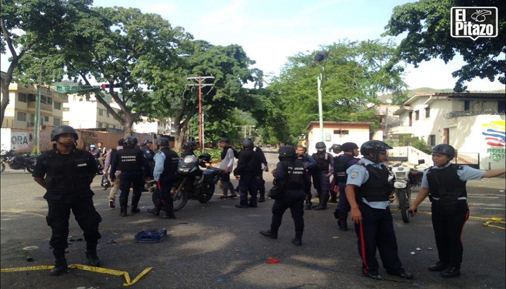 Trancazo en Carabobo culminó con un muerto y al menos nueve heridos