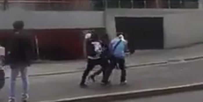 Tras brutal represión | Reportan joven herido en La Mercedes