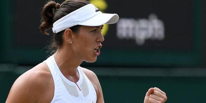 Una implacable Garbiñe Muguruza logra su pase a octavos de final en Wimbledon