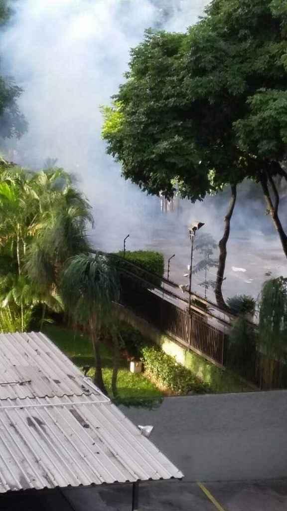 Vecinos reportan disparos hasta a los edificios #10Jul