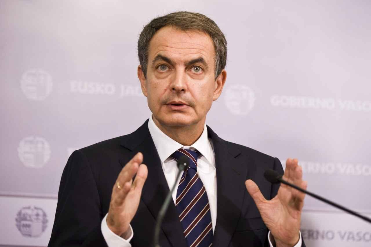 Zapatero visita a Leopoldo López en su residencia