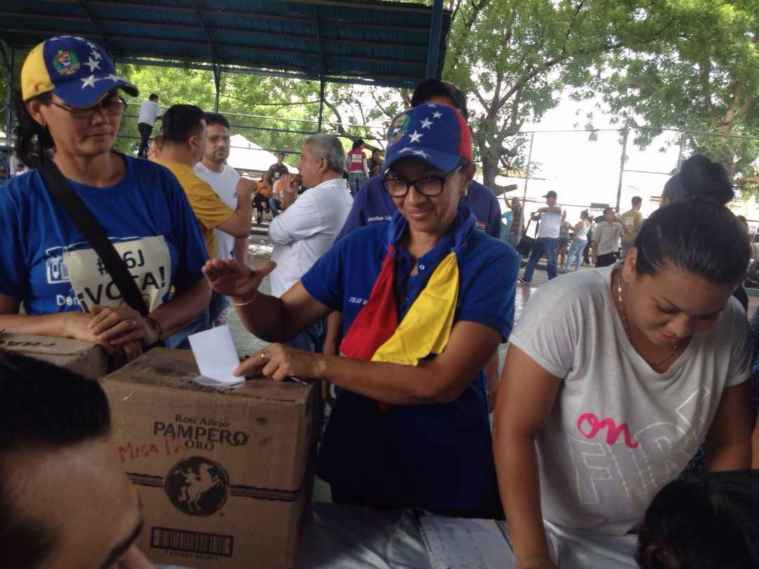 Se esperan resultados de la consulta popular a partir de 6:00 p.m. en el Zulia