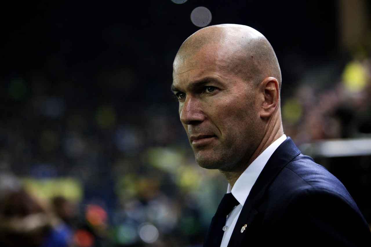 """Zidane: """"No soy un genio de entrenar, eso son tonterías"""""""