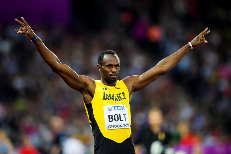 Usain Bolt arranca su cuenta regresiva con victoria