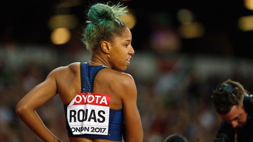 Yulimar Rojas se ubicó séptima en el triple salto de Birmingham