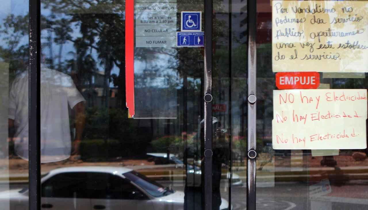 Robo de cables deja inoperativa oficina del Banco de Venezuela