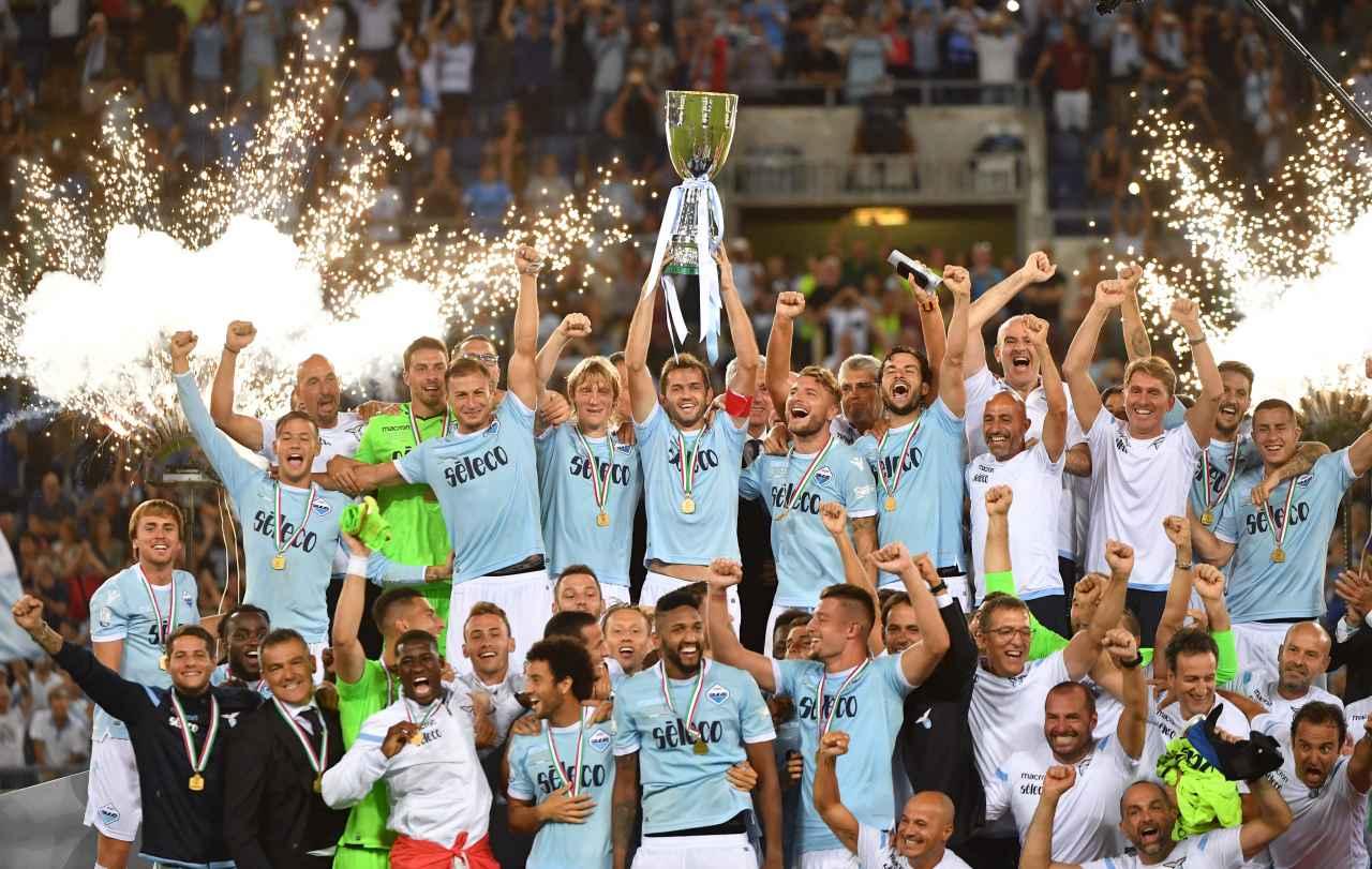 Lazio sorprende a la Juventus en la Supercopa