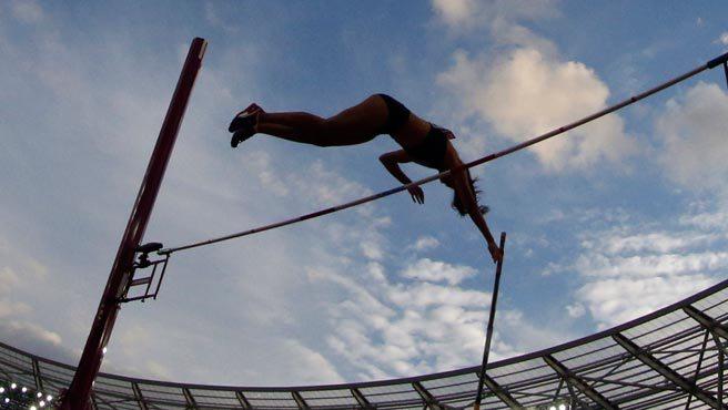 Robeilys Peinado se metió en la final del salto con garrocha