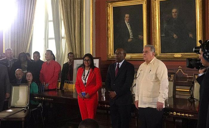 ANC se instaló en el Salón Elíptico y eligió junta directiva