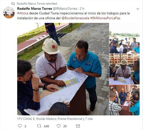 Ciudad Tiuna inaugurará próximamente oficina del Banco de Venezuela
