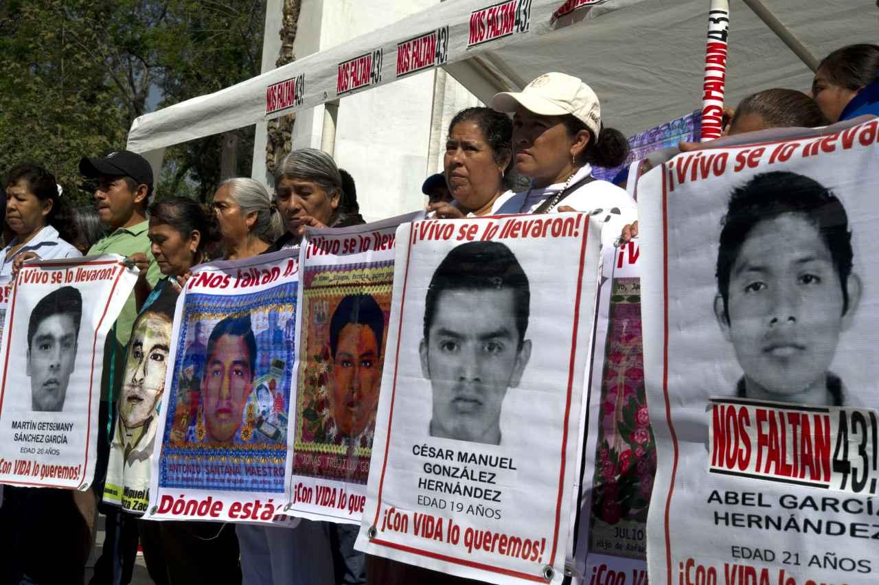 CIDH se compromete con padres de 43 jóvenes de Ayotzinapa lograr la verdad