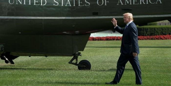 POLÉMICA | Trump se va de vacaciones, una práctica que criticó durante años