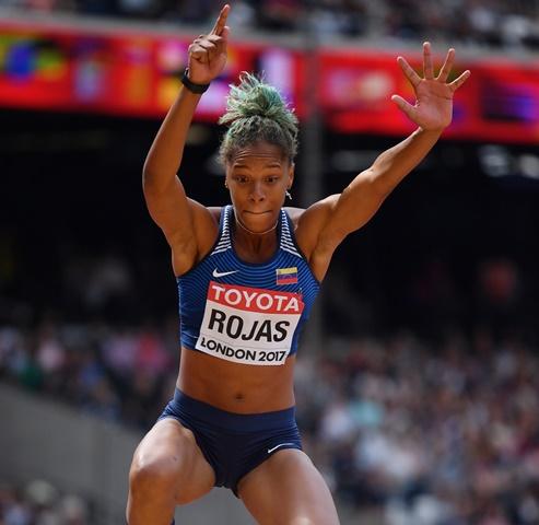 Yulimar Rojas clasificó cómoda a la final en el Mundial de Atletismo