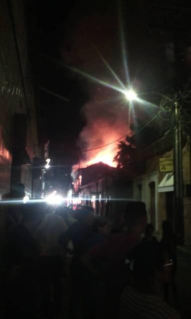 incendio en Barcelona Anzoátegui