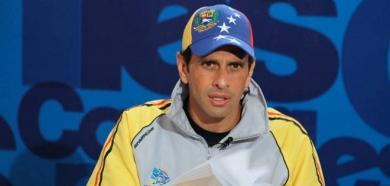 Capriles: Votar por un candidato del Psuv es votar por Nicolás Maduro