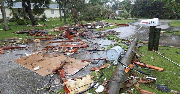 El Salvador anuncia fuertes lluvias y tormentas a causa del huracán Irma