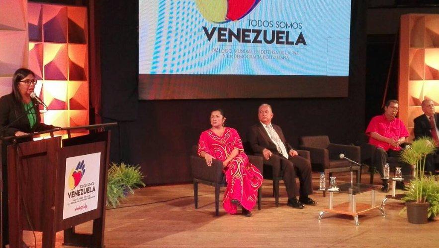 Delcy Rodríguez denunció que discurso de Trump en la ONU amenaza la paz internacional