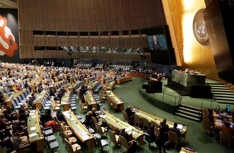 Líderes mundiales miden crisis norcoreana en la ONU