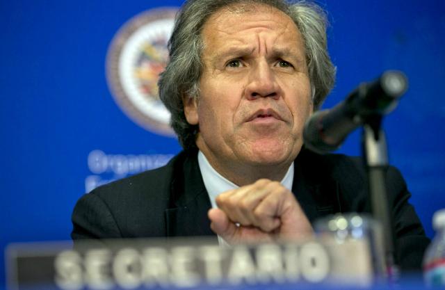"""Almagro aplaude sanciones de Canadá a Venezuela como """"defensa de democracia"""""""