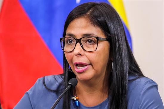 Delcy Rodríguez: Fuerzas del orden actuaron apegadas a la ley durante las protestas
