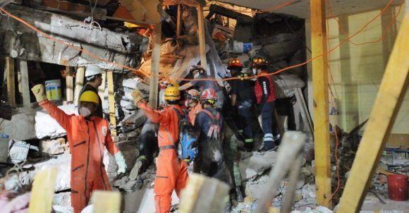 El mundo ENTERO atento del rescate a Frida Sofía, atrapada entre los escombros del colegio Enrique Rébsamen, en México